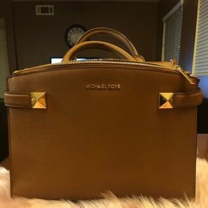 Michael Kors medium Saffiano bag with two studs